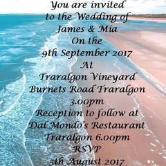 BEACH THEMED WEDDING INVITATIONS