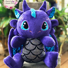 Jointed Dragon Plushie