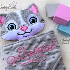 Cat 'Ruggybud' - personalised, comforter, keepsake, lovey.