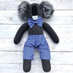 'Bob' the Sock Koala - *READY TO POST*