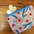 Coin purse - Gum Blossom