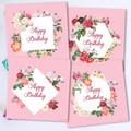 Elegant Vintage Florals Card Set