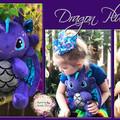 Jointed Dragon Plushie