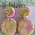 Luscious Lemons Earrings