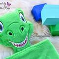 Dino 'Ruggybud' - personalised, comforter, keepsake, lovey.