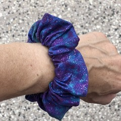 Purple Galaxy Scrunchie