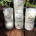 Personalised Wedding Candles-3 set (Shanna)