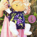 Fabric doll/toy carrier