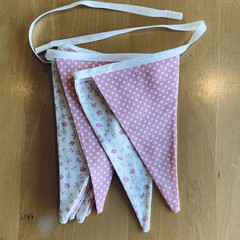"""Think Pink"" bunting"