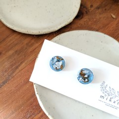Clearlance SALE! Eco resin earrings