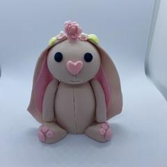 Bunny Rabbit Cake Topper | Baby Showers | Birthdays | Fondant