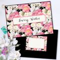 Elegant Vintage Roses Greeting Card