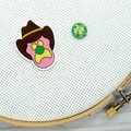 Needle Minder | Bubble O Bill | Needleminder | Magnet for Cross Stitch, Embroide