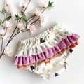 Frilly Nappy Cover - Size 1 | Ruffles | Diaper Cover | Toddler | Scandi | Fox