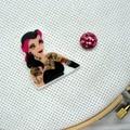 Needle Minder | Rebel Princess Belle | Needleminder | Magnet for Cross Stitch, E