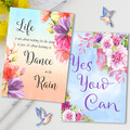 Quotes Duo Delicate Florals Card Set