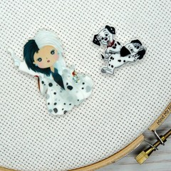 Needle Minder | Interchangeable 101 Dalmatians Pups and Cruella De Vil