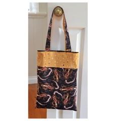 Handy Tote Bag - Aboriginal Art Print - Totally Reversible