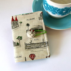 Tea Bag Wallet - Melbourne Icons
