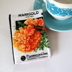 Tea Bag Wallet - Flower Seed Packets