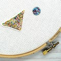 Needle Minder | Fairy Bread | Needleminder | Magnet for Cross Stitch, Embroidery