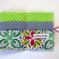 Tea Bag Wallet - Florals