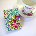 Tea Bag Wallet - Florals