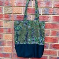 Handmade Lined Tote Bag