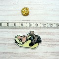 Needle Minder | Rebel Alice | Needleminder | Magnet for Cross Stitch, Embroidery