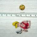 Needle Minder | Rebel Princess Cinderella | Needleminder | Magnet for Cross Stit