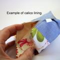 Travel Tissue Case, Pocket Tissue Holder - Australian Blue Kangaroos
