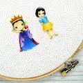 Needle Minder | Interchangeable Snow White and Queen Grimhilde | Needleminder |