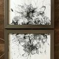 Atomic - Acrylic Pour Art