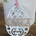 Personalised Mandala Easter Egg Ornaments - More colours available