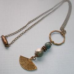 Fat Cat Original Gemstone Necklace