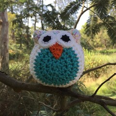 Owl Softie | Soft Toy | Gift Idea | Hand Crocheted | Pure Australian Wool