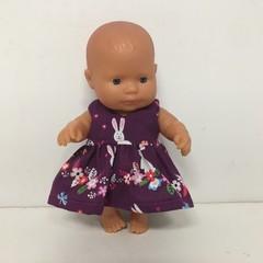 Easter Miniland Dolls Dress to fit 21 cm dolls