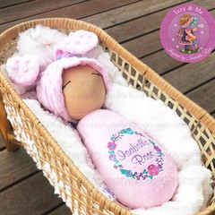 Personalised 'Bunny Boo' Doll - Easter Custom Spot