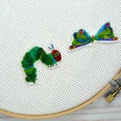 Needle Minder | Interchangeable Very Hungry Caterpillar | Needleminder | Magnet
