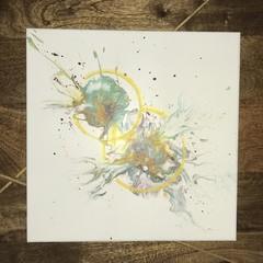 Quasars - Acrylic Pour Art