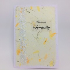 Sympathy Card - With Heartfelt Sympathy
