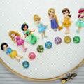 Needle Minder Set   Princess   Needleminder   Magnet for Cross Stitch, Embroider
