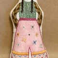 POCKET DOLL in pink culottes