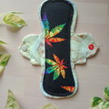 "8"" Heavy exposed core cloth pad (Leak Freak Flutter)"