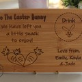 Personalised Easter Bunny Snack Board- 2 Designs Available