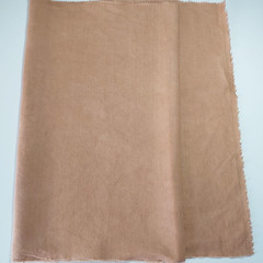 Botanically Dyed  Linen  Ochre - 140cm x 70cm