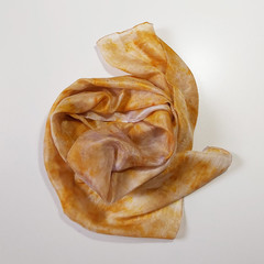 Silk Scarf Fustic