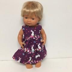 Easter Miniland Dolls   Dress to fit 38cm Dolls