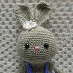 Rabbit, READY TO POST, Bunny Rabbit, Crochet toy, Girl Gift