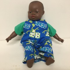 Dolls Overalls and top to fit 40cm Soft Body Miniland Dolls
